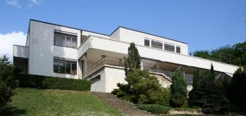 Villa Tugendhat in Brno. Foto van Daniel Fiser