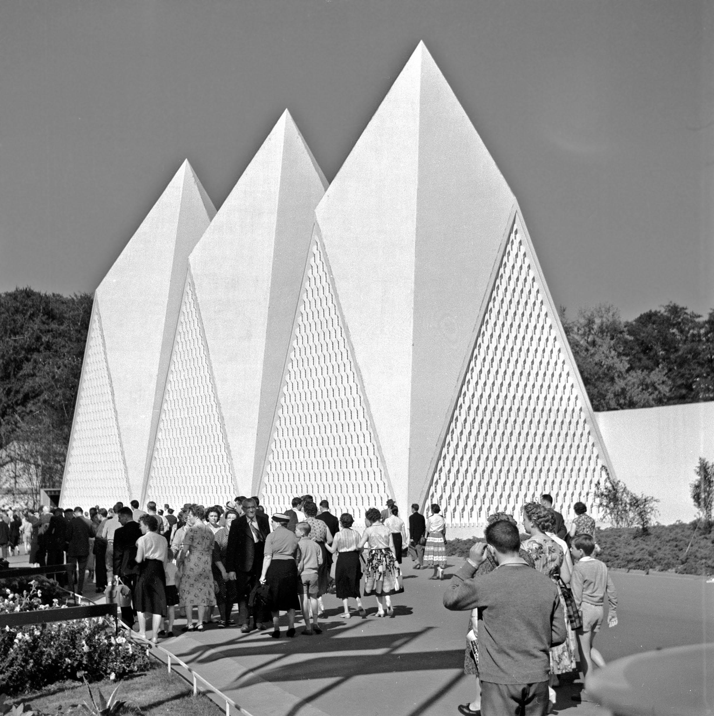 Expo 1958 paviljoen van Engeland / United Kongdom