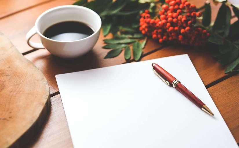 Over schrijfgewoontes